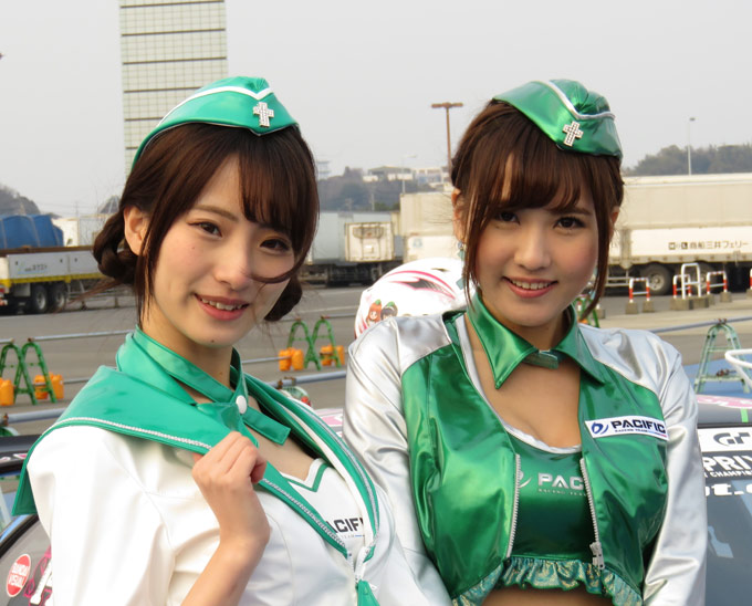 大洗春祭り 海楽フェスタ2017 パシフィックレーシング レースクイーン