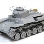 """素組み画像も到着!! ドラゴン 1/35 WW.II 日本陸軍九七式中戦車""""チハ""""前期型"""