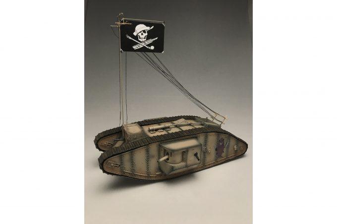 【ガルパン最終章】海賊旗が目印!!サメさんチーム戦車の1/35キットが登場!! #garupan