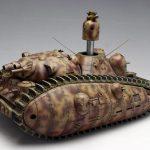 夢の多砲塔戦車 悪役1号 短砲身型はボックスアートも凄い!