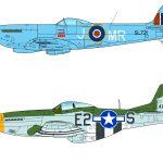 【プラッツ 全日本模型ホビーショー】1/72 スピットファイア Mk.XVI &1/144 WW.II アメリカ軍 P-51D マスタングが新登場!!