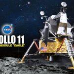 月面着陸50周年 模型で辿るアポロ11号の偉業