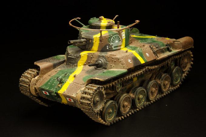 九七式中戦車 (チハ) 57mm砲塔/新車台